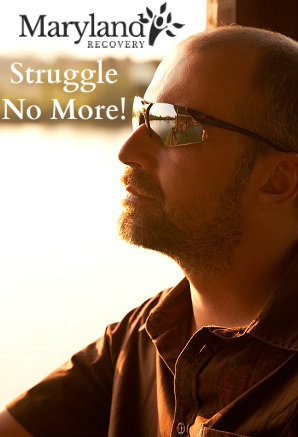 Guy Thinking - Struggle No More - www.MarylandRecovery.com