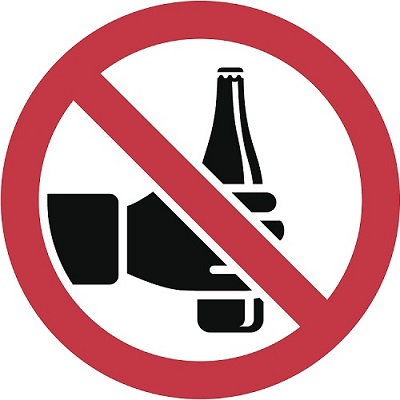 No Drinking-Alcohol Awareness Month