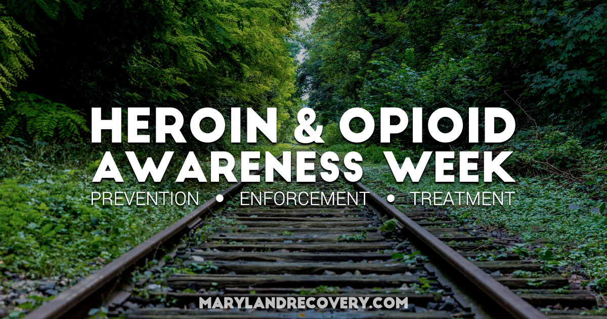 Federal And State Officials Mark Heroin And Opioid Awareness Week