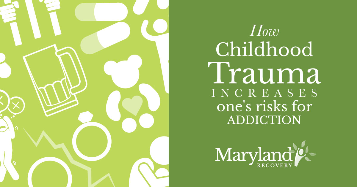 How Childhood Trauma Increases the Risk of Addiction